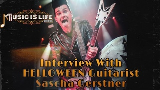 SASCHA GERSTNER of HELLOWEEN - Music Is Life Podcast