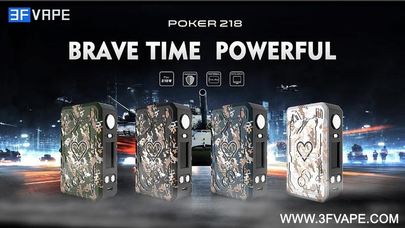 Tesla Teslacigs Poker 218W Mod