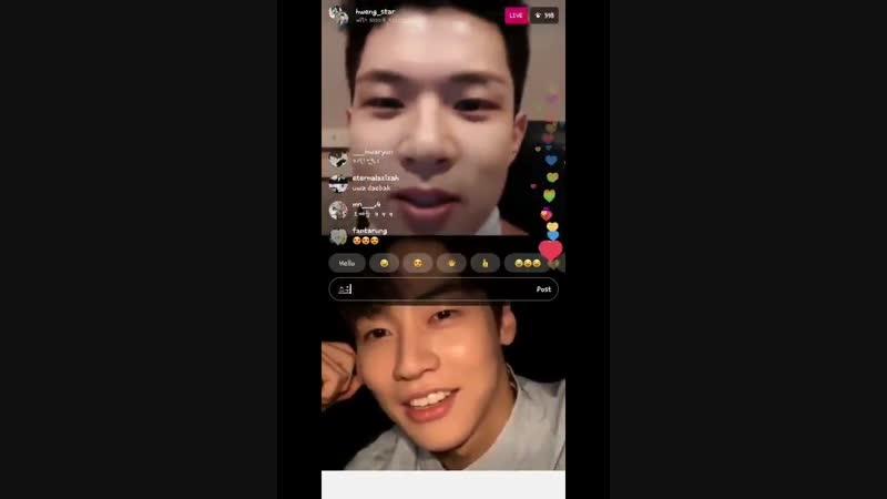181130 Yoo Hweseung ( Instagram LIVE