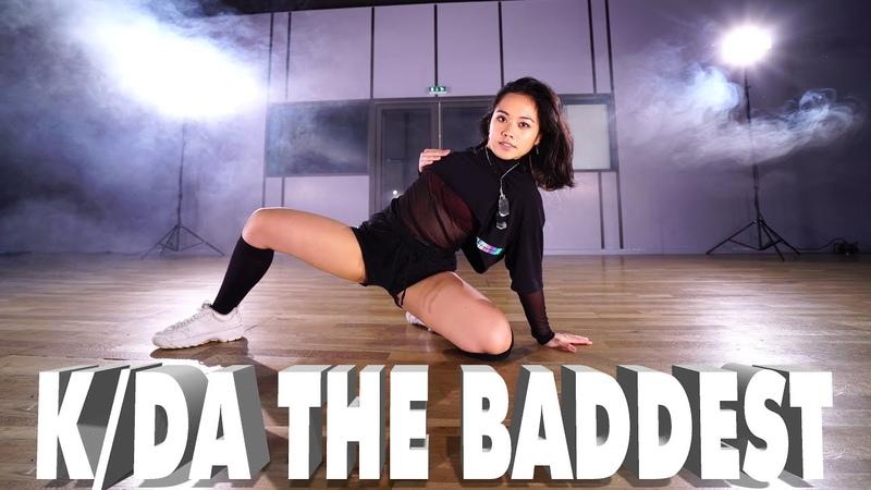K DA THE BADDEST Dance Video Cosplay League of Legends by Sabrina Lonis