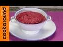 Crema di barbabietole arrosto minestra inconsueta!