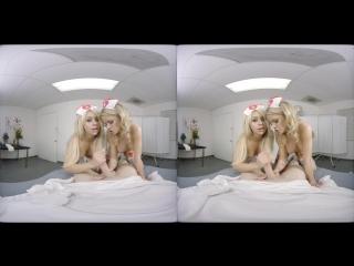 Jessa Rhodes, Madelyn Monroe nurses vr porn oculus rift pov virtual reality lesbian babe HD threesome fmf порно от первого лица