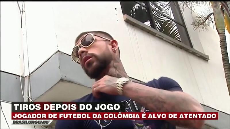 Jogador colombiano é alvo de atendado após partida