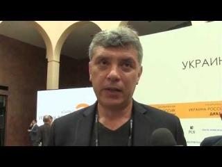 Борис Немцов  «Путин   ебнутый !»