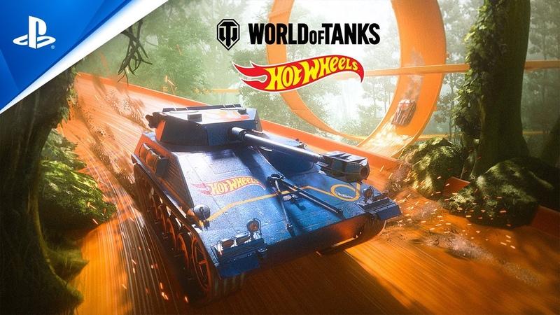 World of Tanks Hot Wheels PS4
