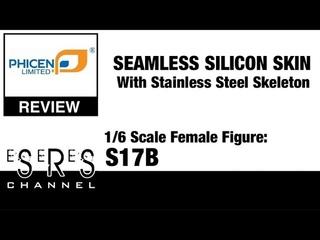 Phicen 1/6 Scale Female Seamless Stainless Steel Skeleton Body S17B