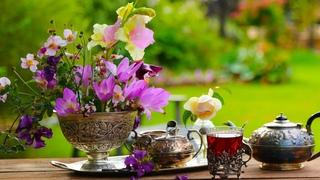 "Peaceful Beautiful Relaxing Music, Meditation Music,  Flute and Violin ""Summer Tea"" Tim Janis"