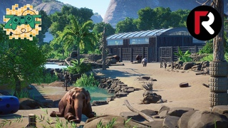 Elephants, Rhinos & Flamingos   Planet Zoo Cinematic Tour   Rumah Asia 2.1