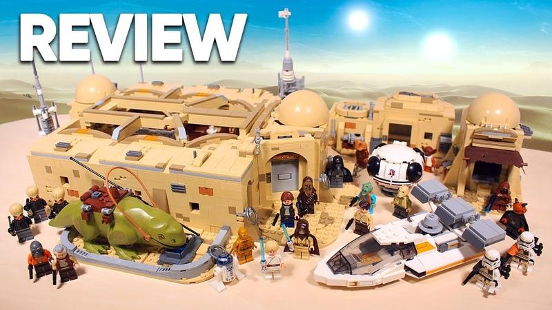 LEGO Star Wars 75290 Mos Eisley Cantina ОБЗОР и КОНКУРС на 10 ПРИЗОВ