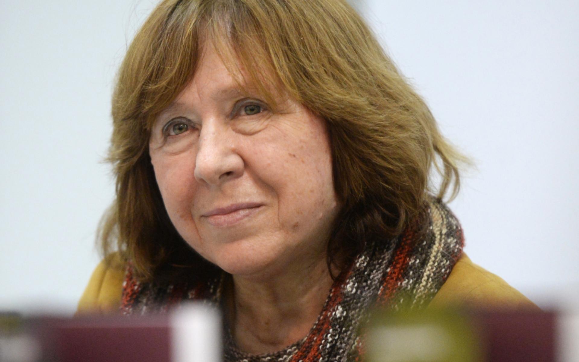 Светлана Алексиевич: Восстал не Координационный комитет. Восстала страна