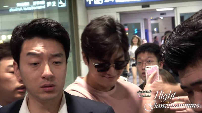 Lee Min Ho 20160723 Incheon Airport 입국