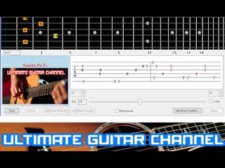 [Guitar Solo Tab] Samba Pa Ti (Santana)