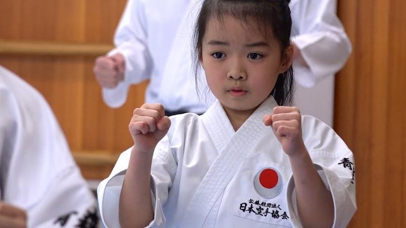 青森発!空手少年少女たちの基本稽古!Karate kids basic training