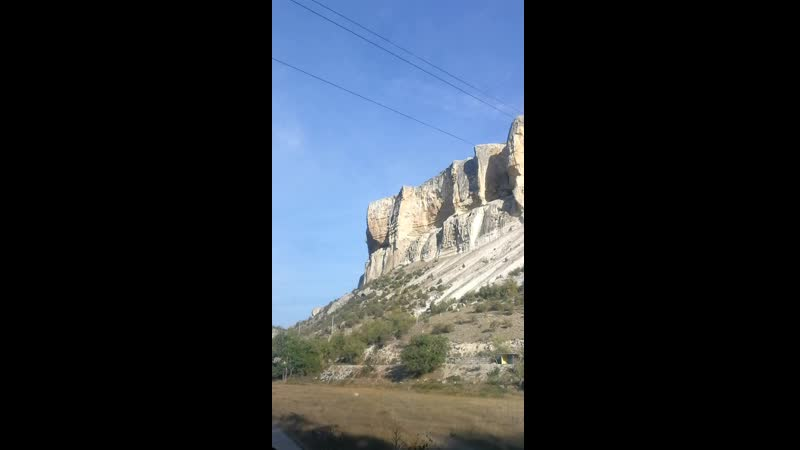 Бахчисарай качи кальон пещерный храм Крым горы скалы путешествие