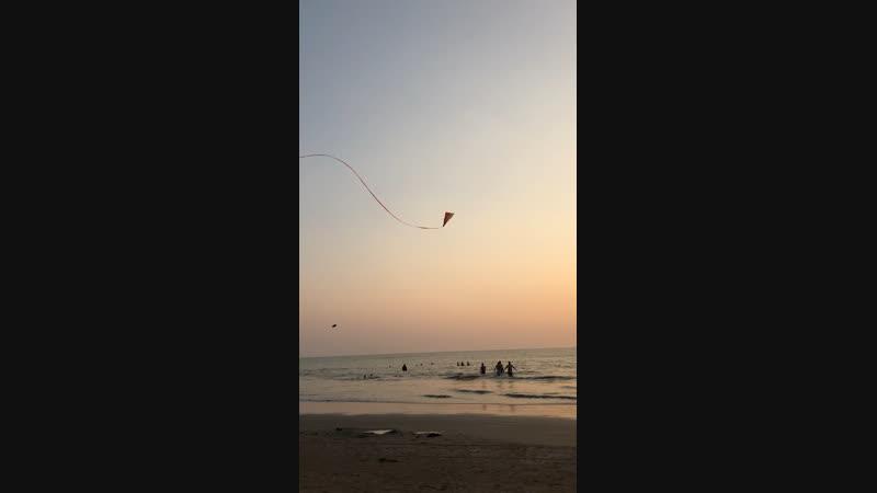 Sunset Goa. Morjim🌅🌊🌴🏝