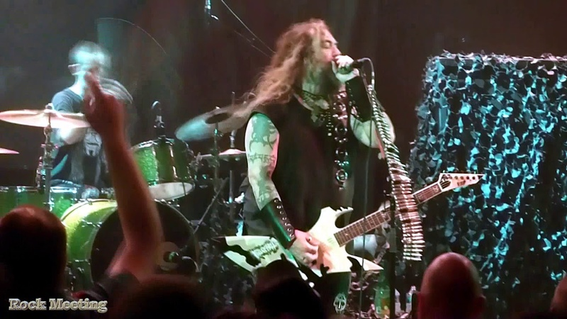 SOULFLY Toulouse Ritual - Dead Behind the Eyes - Le Metronum - 29062019