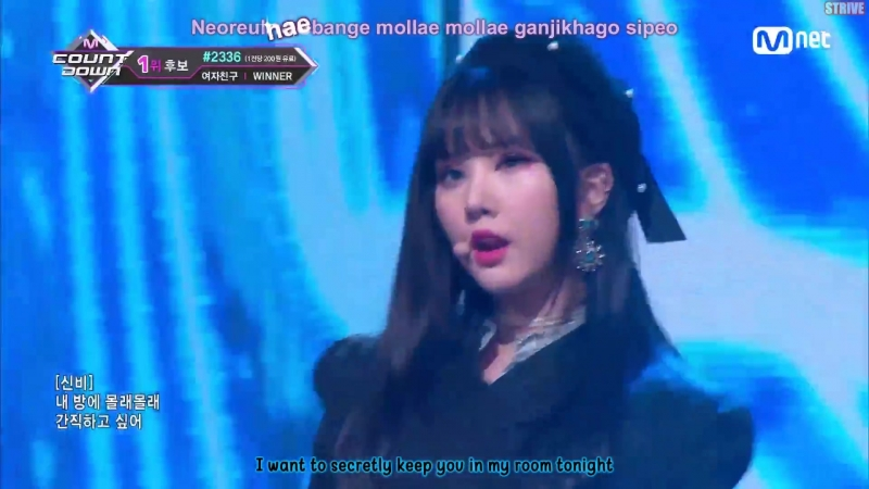Engsub Kara M COUNTDOWN Ep 570 GFRIEND Time for the moon night 10 Mei 2018