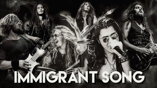 Immigrant Song (Cover) - Dino Jelusick, Micky Crystal, Colin Parkinson, Kyle Hughes & friends.