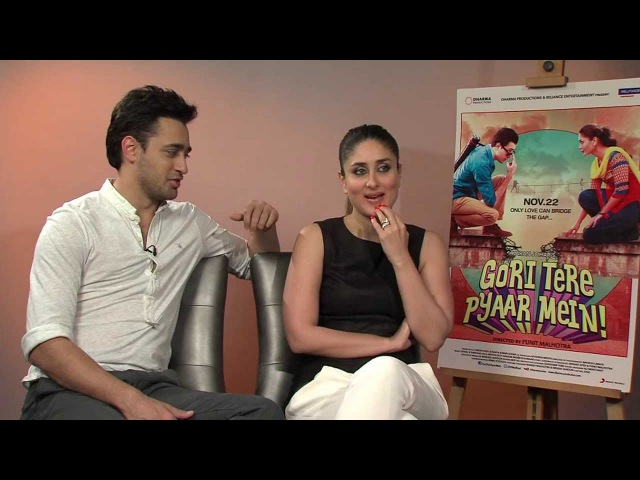 Kareena Kapoor and Imran Khan promote Gori Tere Pyaar Mein In London - www.desimag.co.uk