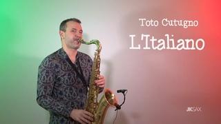 Toto Cutugno - L'Italiano (Saxophone Cover by JK Sax)