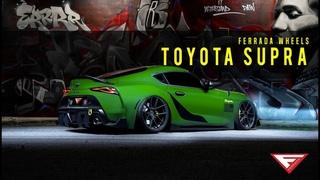 2020 Toyota Supra   Miami Nights   Ferrada Wheels FR8