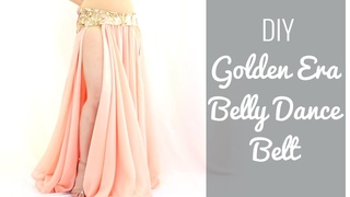 DIY Golden Era Belly Dance Belt!