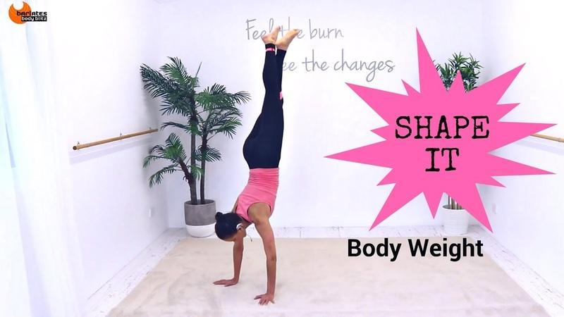 Total Body Workout Pilates Fusion Workout Barlates Body Blitz Body Shape It Body Weight