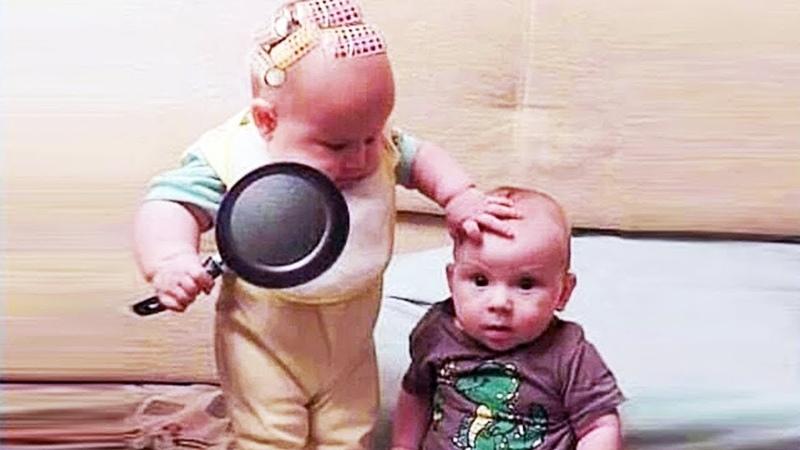 Funniest Baby And Siblings