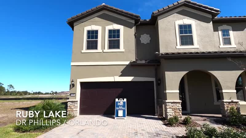 New Waterfront Home for sale In Dr Phillips Orlando Sold Pulte Still Wate