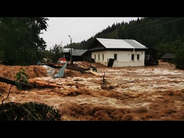 Дома ушли под воду улицы превратились в реки жуткое наводнение в Квинсленде Австралия 7 АПРЕЛЯ