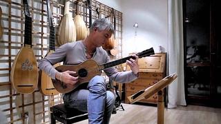 Rolf Lislevand plays  Sabionari, 1679 guitar - Santiago de Murcia - Tarantela