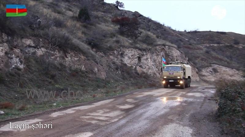 Видеокадры из освобожденного от армянской оккупации Лачина