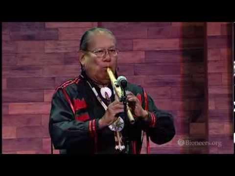 R Carlos Nakai Opening Performance Bioneers
