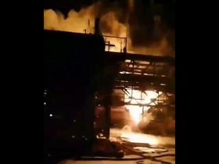 Пожежа на хімзаводі у Калуші