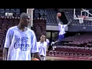 Exclusive Footage of Kobe Bryant at Los Angeles Clippers Pre-Draft Work Out 1996