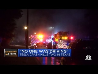 No one was driving in Tesla crash that killed two men in Texas: Report