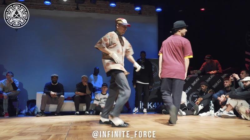 KITE vs NIKKI POP INFINITE POPPING 2019 QUARTERFINAL