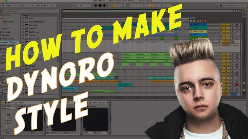 How To Make Dynoro Sound. Ableton Live Template and Tutorial by Alex Menco (Dynoro Bass)