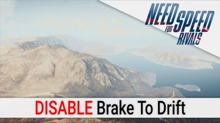 Need for Speed Rivals Beta: Disabled Brake To Drift