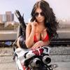 Motorcycle, Car, Gun, Erotica, Beauty