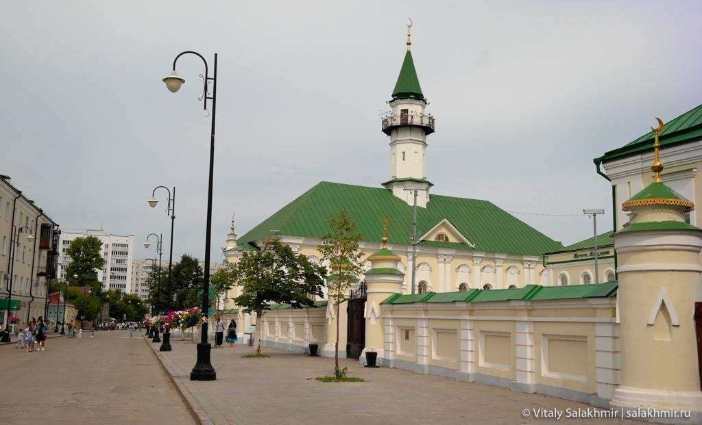 Старейшая мечеть Казани, аль-Марджани