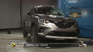 Euro NCAP Crash & Safety Tests of Renault Captur 2019 - Update