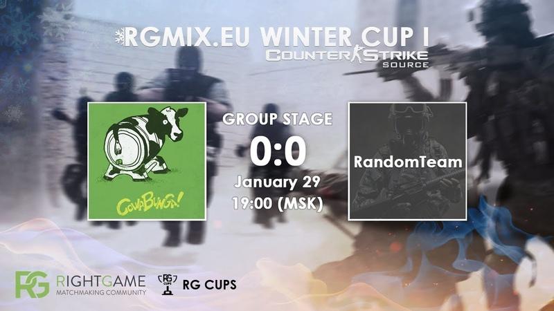 RGMIX.eu Winter Cup 1 [COWABUNGA vs RandomTeam] Group A
