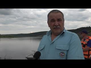 В Дюртюлях ежедневно сотрудники муниципалитета и спасатели проводят рейды по необорудованным местам купания