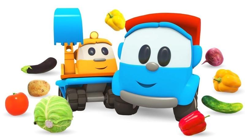 Vamos aprender os legumes Cante com Léo o caminhão Canções infantis