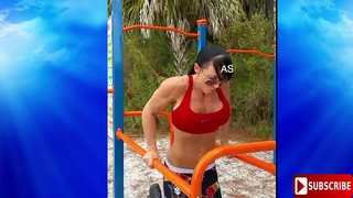 Playboy Playmate ERICA CORDIE Workout motivation 2018