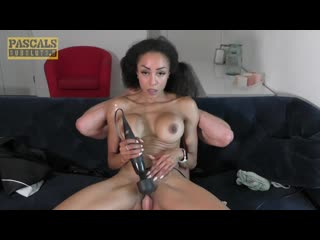 Alyssa Divine - The perfect fuck [All Sex, Brunette, Ebony, Skinny, Blowjob, Deep Throat, Toy, Spanking, Choking Squirt]