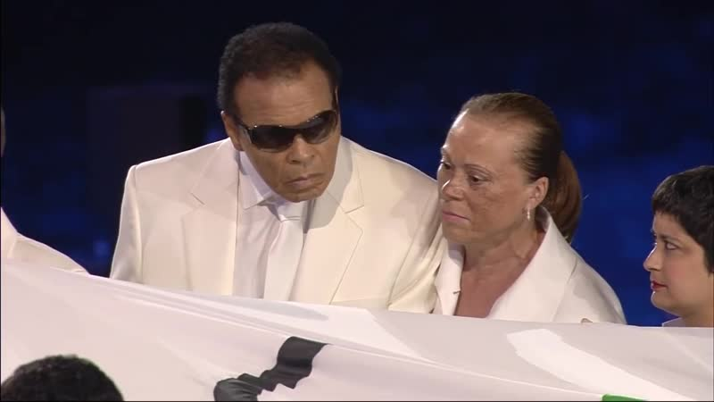Muhammad Ali Makes A Special Appearance At The Opening Ceremony London 2012 Olympics