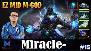 Miracle - Zeus | EZ MID M-GOD | Dota 2 Pro MMR Gameplay #15