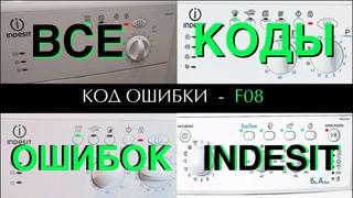 Ошибки стиральной машины Индезит | Расшифровка | Ремонт стиральных машин